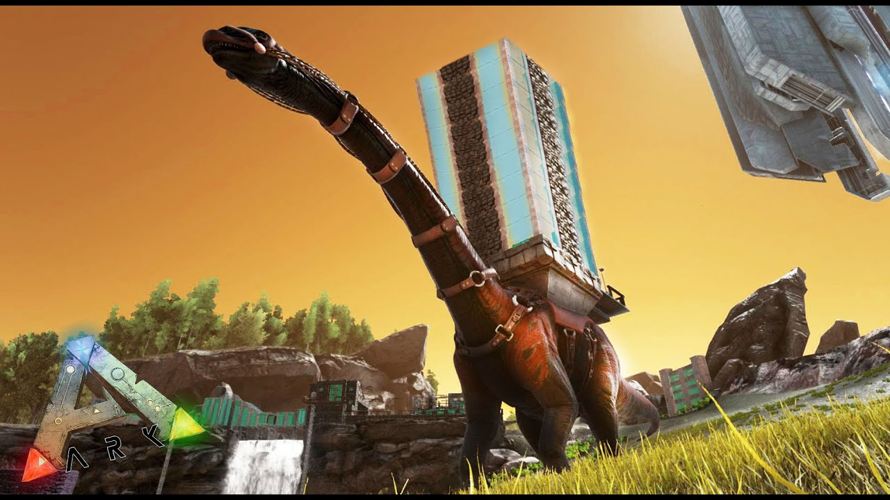 una casa de cristal con patas ark survival evolved nexxuz youtube