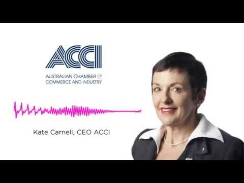 Kate Carnell on Penalty Rates: old cliches about workers' rights?