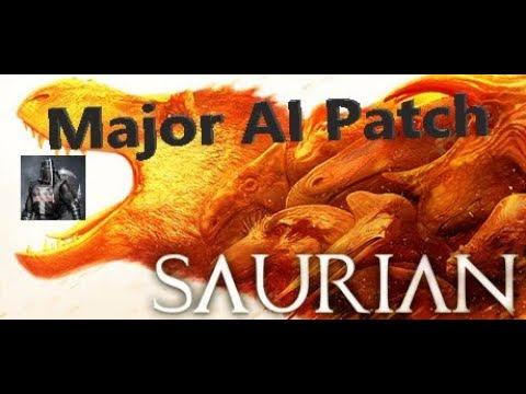 Saurian:  Update Patch - Threat behavior