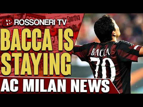 Bacca Is Staying | AC Milan News | Rossoneri TV