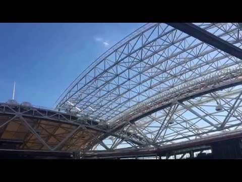 USTA Billie Jean King National Tennis Center Retractable Roof Opening