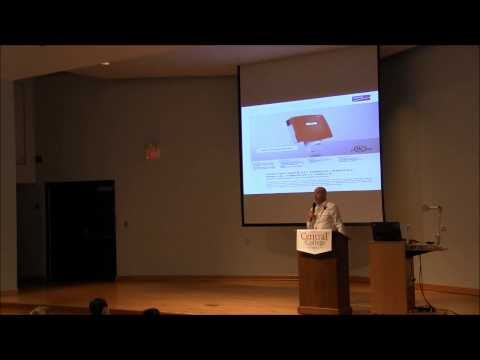 """Tim Dwight at Central College, """"Solar: Energy of the Future"""""""