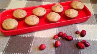 Mini Cranberry Sauce Muffins - Rise Wine & Dine - Episode 106