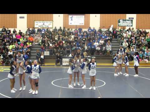 Reuther Middle School 8th Grade Cheer Team, Round 3 on 1-11-2014
