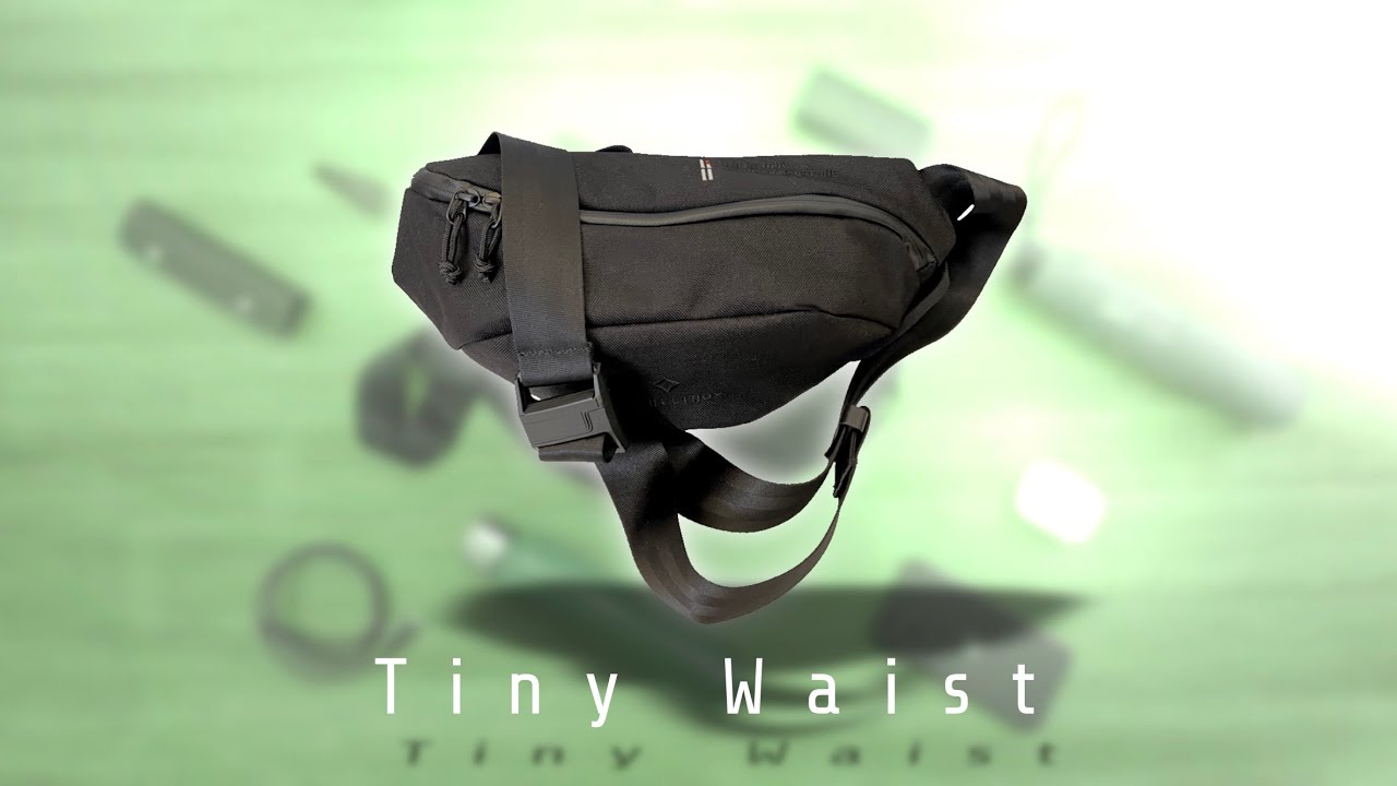 Download TERG TINY WAIST / Urban Daily Sling - Backpacking:vol.109