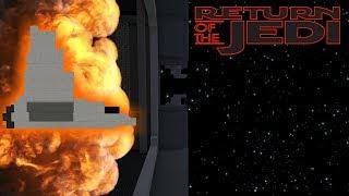 Minecraft StarWars: The 2nd Death Star Explosion Scene Recreation