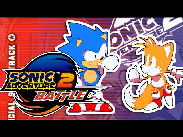 Sonic Mania in the Style of Sonic Adventure 2 Battle