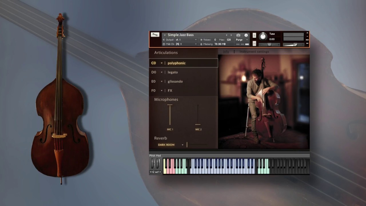 Simple Jazz Bass   FluffyAudio