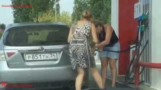 Женщины за рулем (часть 5)  Тематические подборки дтп