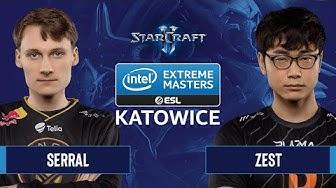 SC2 - Serral vs. Zest - IEM Katowice 2020 - Semifinals