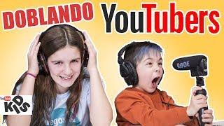El RETO del doblaje #2 Doblando a YOUTUBERS // Los Familukis