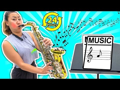 LEARNING AN INSTRUMENT IN 24 HOURS!!