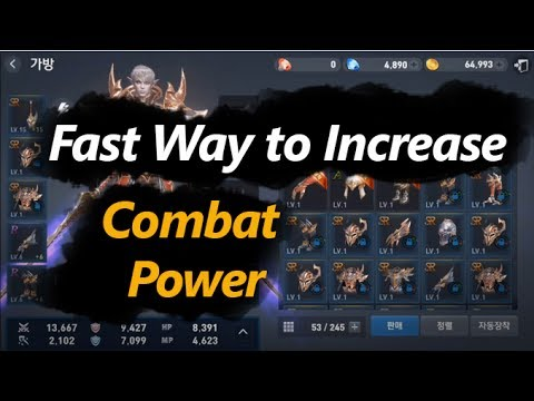 Lineage 2 Revolution How to Increase Combat Power