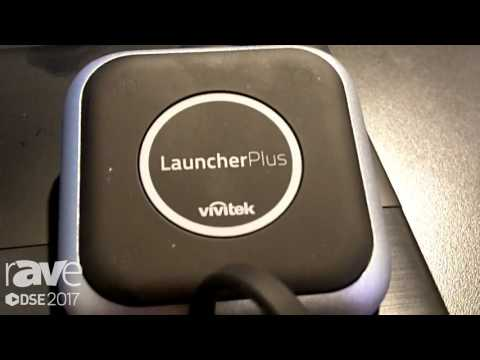 DSE 2017: Vivitek Explains NovoEnterprise Wireless Collaboration Solution