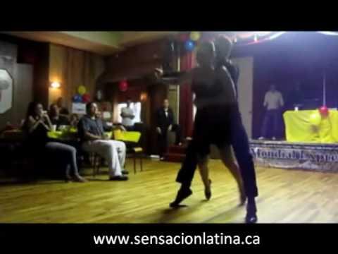 Erika Puerta Y Daniel Camacho pareja de baile Sens...