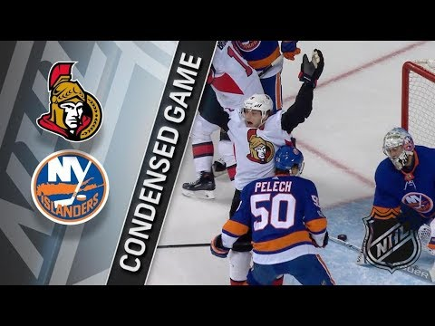 Ottawa Senators vs New York Islanders – Dec. 01, 2017 | Game Highlights | NHL 2017/18 Обзор