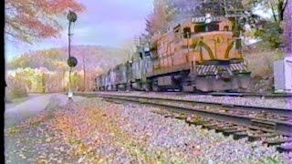 Delaware and Hudson Railroad October 1984 At Lanesboro PA