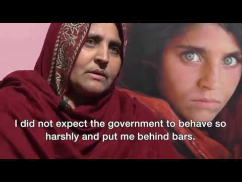 Afghan 'Green Eyed Girl' On Her Future News