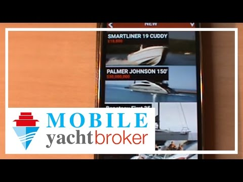 How to look for and compare yachts you like with the YachtBroker mobile app ?!