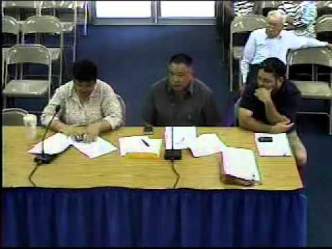 FY 2013 Budget Hearing - Mayors' Council of Guam