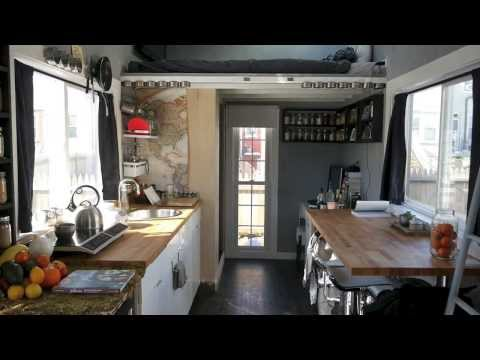 A Dwell Magazine tiny house in the city- Boneyard Studios tour -Jay Austin's home