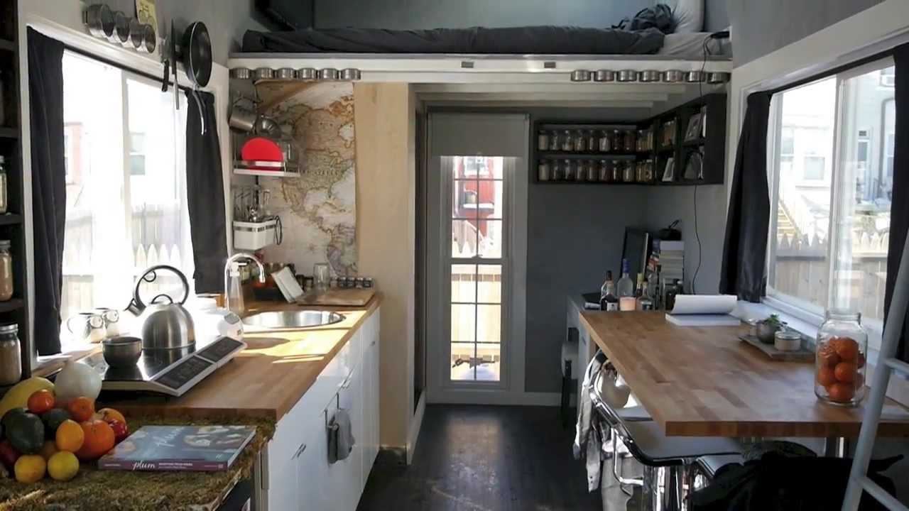 A Dwell Magazine tiny house in the city Boneyard Studios tour