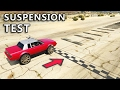 GTA V - Car Suspension test