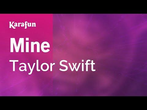 Karaoke Mine - Taylor Swift *