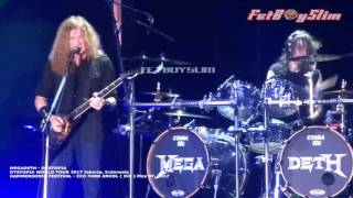 MEGADETH - DYSTOPIA Live in Jakarta 2017