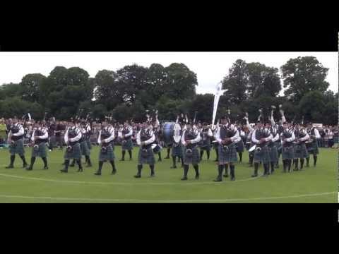 Inveraray & District: European Pipe Band Championships 2012