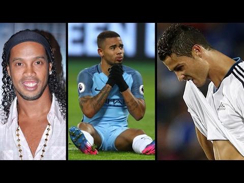 Ronaldinho thinks Gabriel Jesus can be the next Messi,Ronaldo misses training & Vidal warns Arsenal