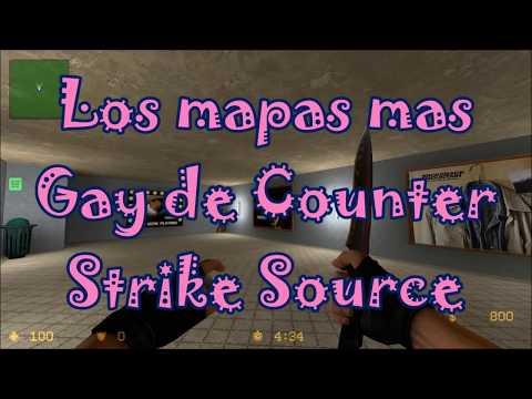 Los mapas más Gay de Counter Strike...