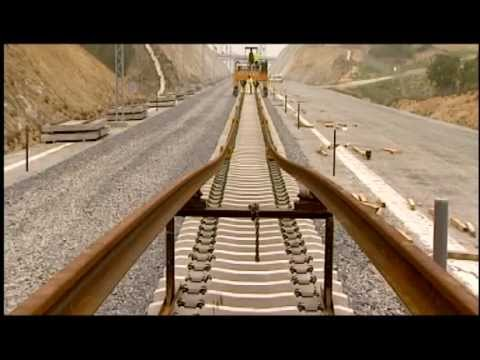 Thumbnail: TECSA SYSTEM of High Speed Railway Track Mounting
