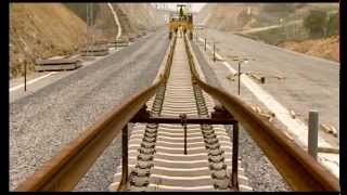 TECSA SYSTEM of High Speed Railway Track Mounting