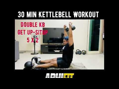30 min Kettlebell Workout1 - Abhinav Malhotra