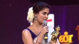 Vikatan Awards Nayanthara About Thala Thalapathy