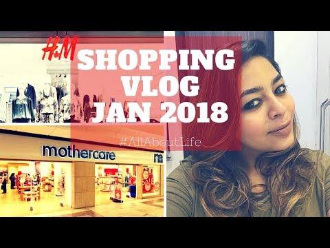 Shopping VLOG Jan 2018 | Select Citywalk Family Visit | H & M | Mothercare store Vlog #allaboutvlog