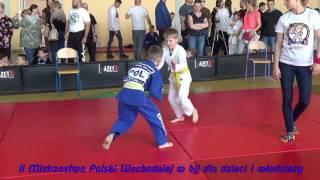 II Mistrzostwa Polski Wschodniej w bjj dzieci i młodzieży. JAKUBÓW 2017-05-13