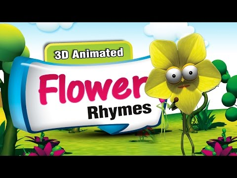 3D Rhymes Collection | 30 Nursery Rhymes Collection | Flower Rhymes Compilation | Rhymes Lyrics