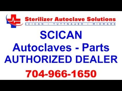 Scican Autoclaves and Parts Authorized Dealer