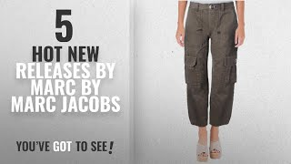 Hot New Marc By Marc Jacobs Women Clothing [2018]: Marc by Marc Jacobs Womens Cropped High Rise