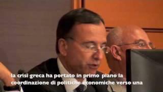 Il Ministro Franco Frattini a Budapest - Intervento al Forum Ambrosetti