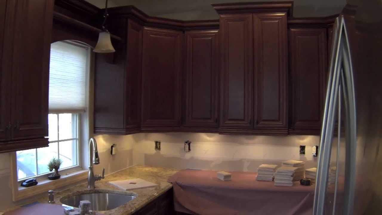 NDA Kitchens Backsplash Installation In Nesconset