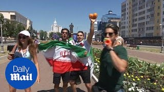 Iran and Portugal fans gather ahead of pivotal Group B game