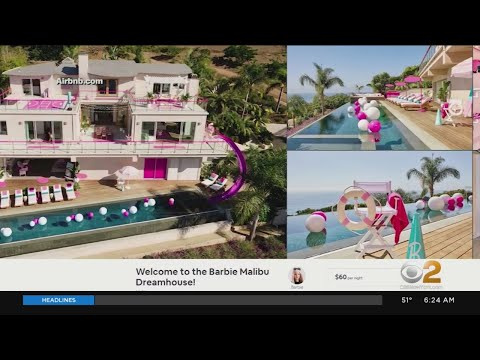Barbie S Malibu Dream House Available On Airbnb Youtube