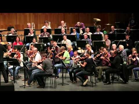 Hans Graf und Philipp Tutzer im Gespräch - Probe des Mozarteumorchesters für die Sonntagsmatinee 4