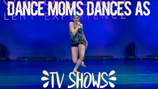 Dances That Remind me of Tv Shows!!!