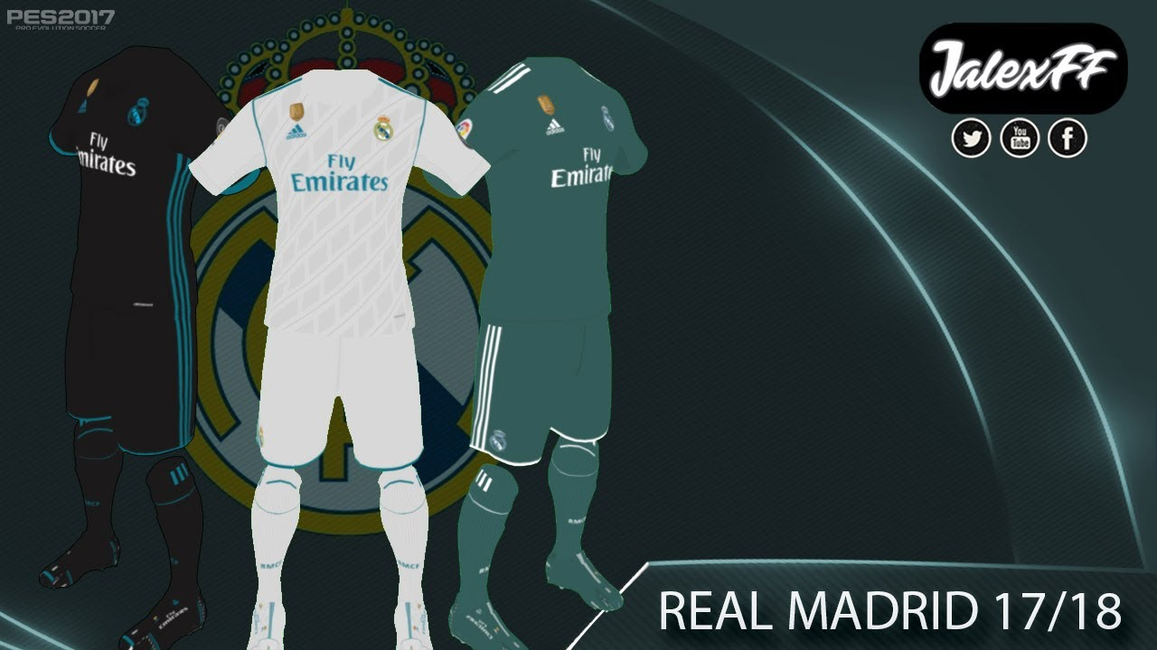 Real Madrid Kit Pes 2018