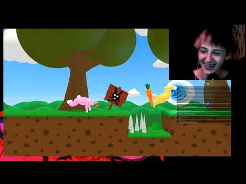 Одис и Юранус Играют в Super Bunny Man