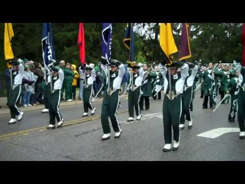 MSU Spartan Marching Band (HD): Toughest Band in the Nation